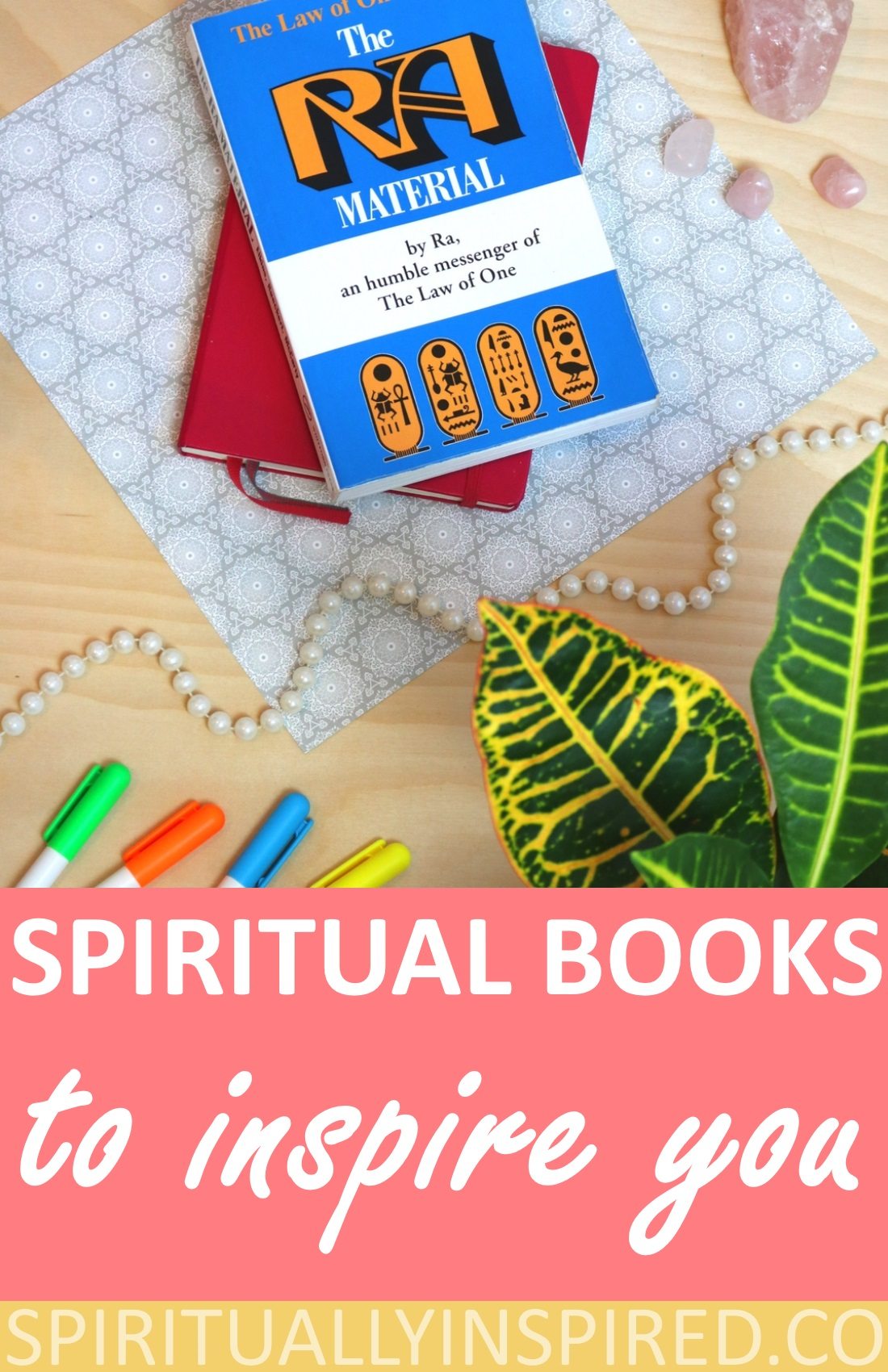 Today, I'm sharing some spiritual books that have greatly impacted my life. Hopefully you will feel inspired to pick up some spiritual books this week!