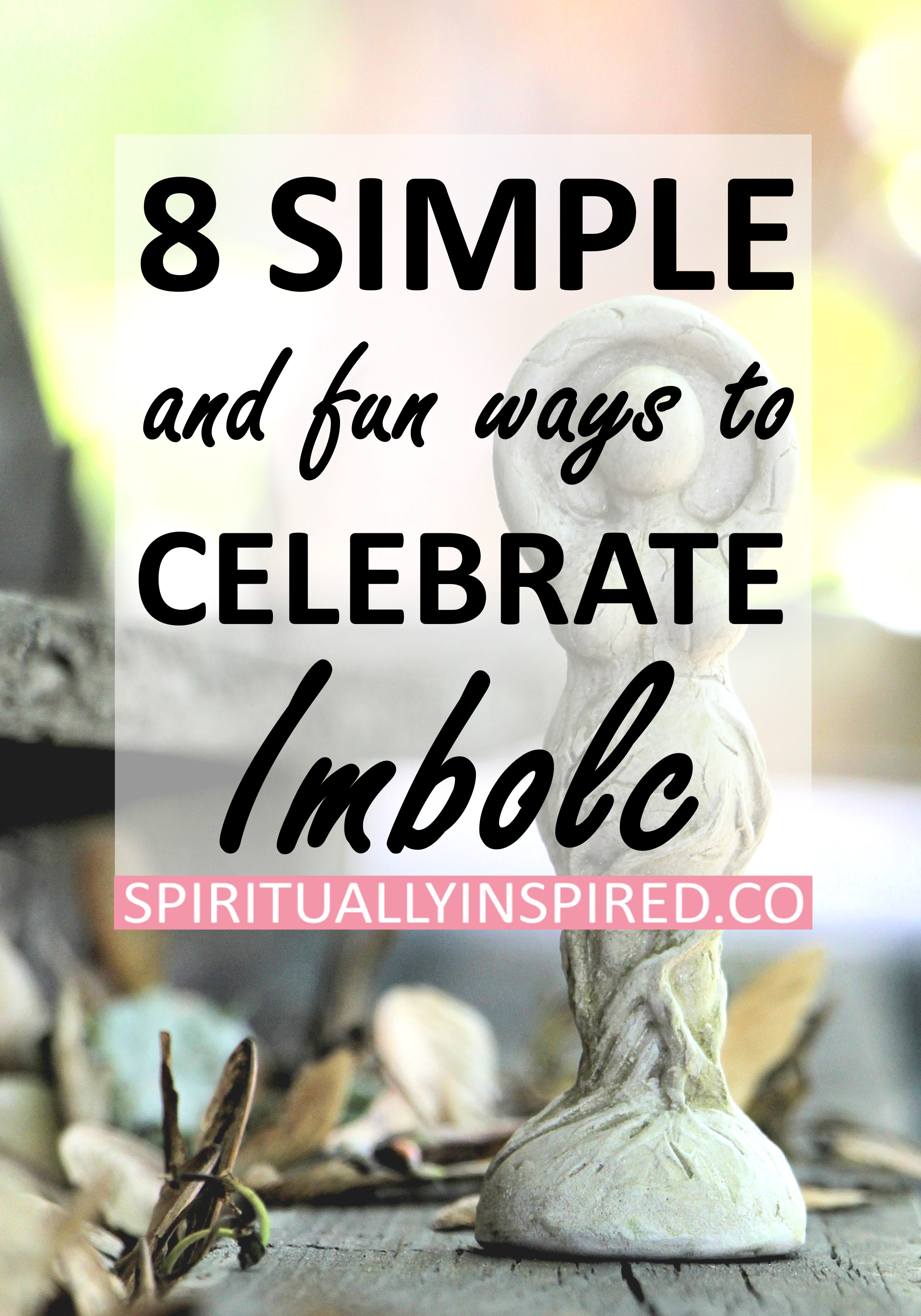 Imbolc is a beautiful time of year. We can see the first signs of spring, and we feel rejuvenated. It's all about embracing the fresh start that nature is offering us! In this blog post, I'll share some of the elemental information regarding the meaning of Imbolc. Plus eight fun & simple ways to enjoy the day.