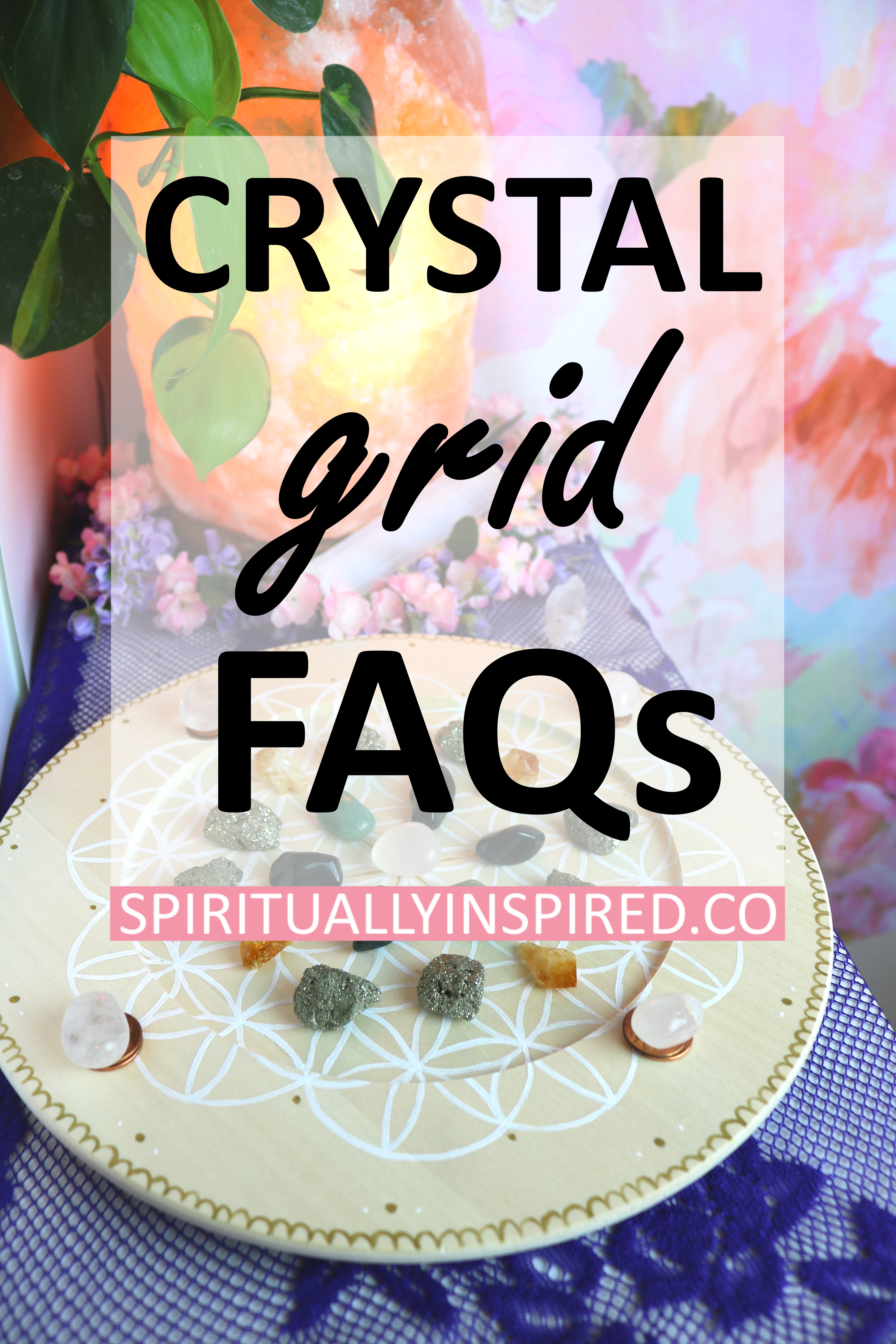 Mesmerized by all those beautiful crystal grid pictures? Time to learn everything there is to know about creating these masterpieces! All you need are some stones and a purpose. Learn step by step how to design and construct a powerful crystal grid for your sacred space.